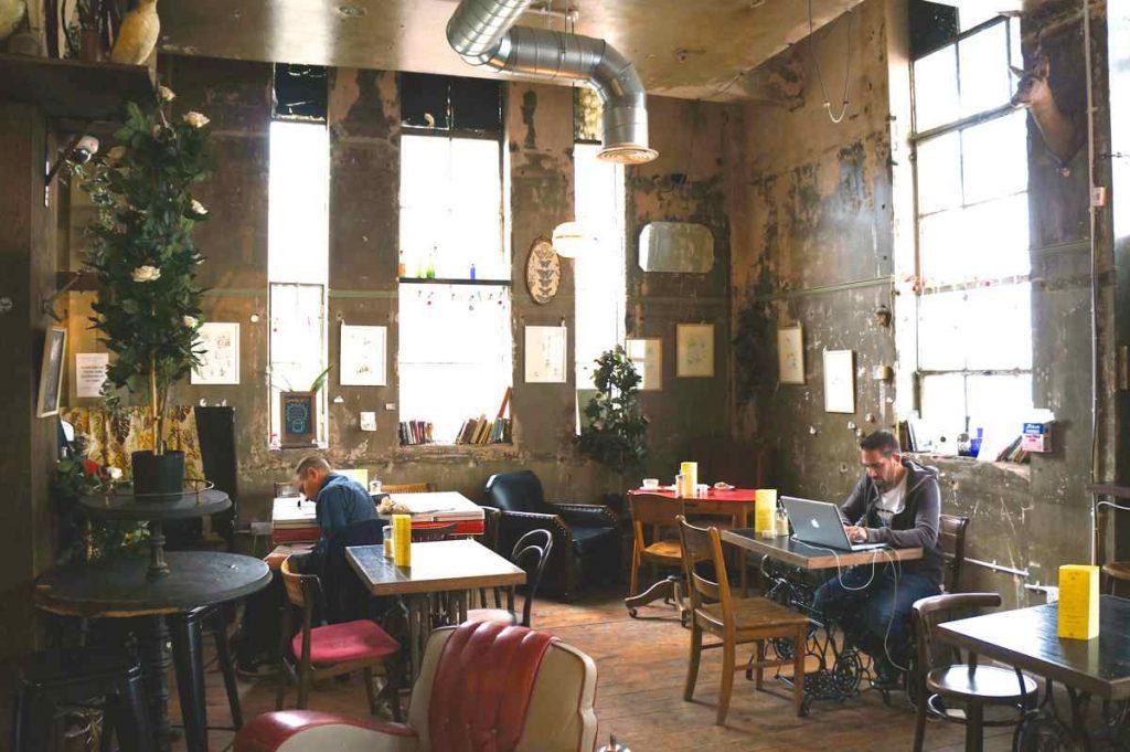 Quán cafe được Tam Long tư vấn và thiết kế
