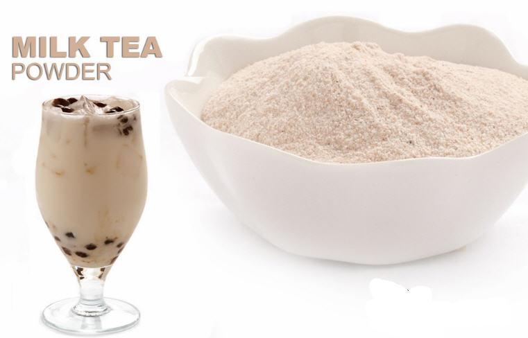 cách pha trà sữa bằng bột béo 1