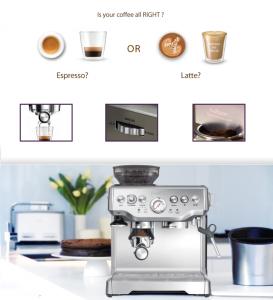 Tính năng tự điều chỉnh nhiệt độ giúp bạn có được những tách cafe ngon