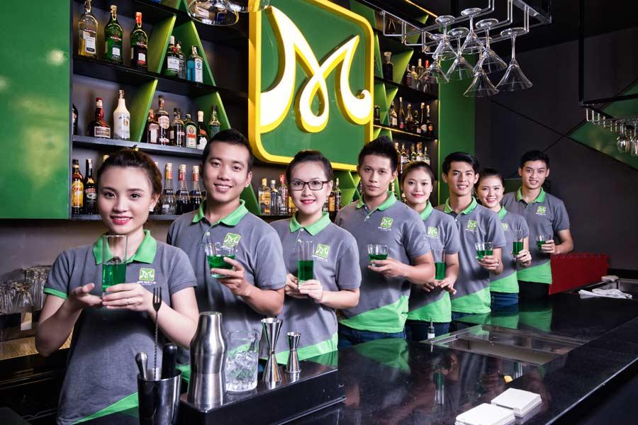 khóa học pha chế bartender 2