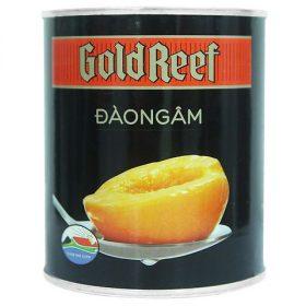 Hộp đào ngâm Gold Reef 825g