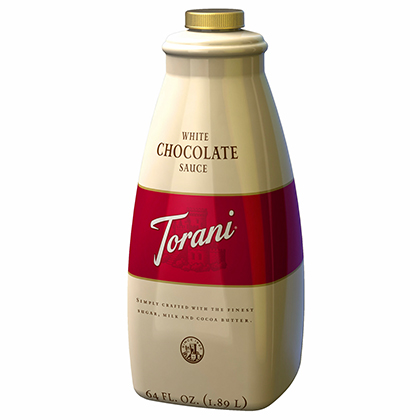 Sauce Torani White Chocolate 1,89L