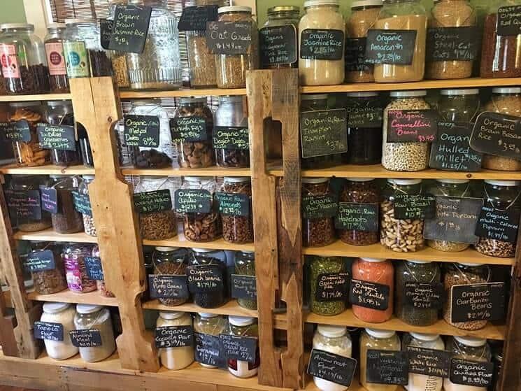 bảo quản nguyên liệu trong quán cà phê
