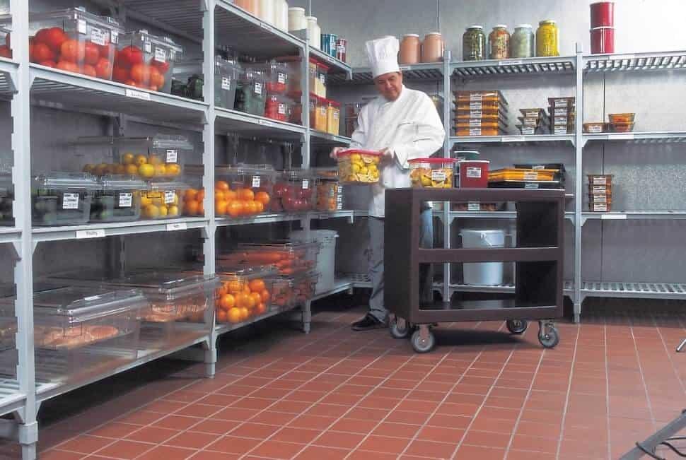 bảo quản thực phẩm trong quán cafe