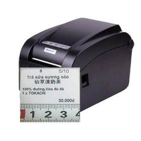 Máy in nhiệt mã vạch Xprinter XP-H500B