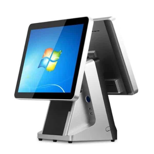 máy pos tính tiền 2 màn hình