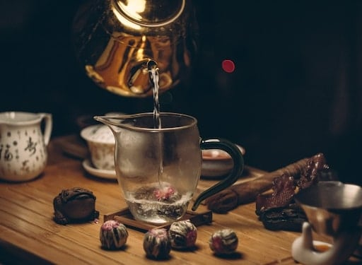 cách pha chế trà sữa bằng trà o long