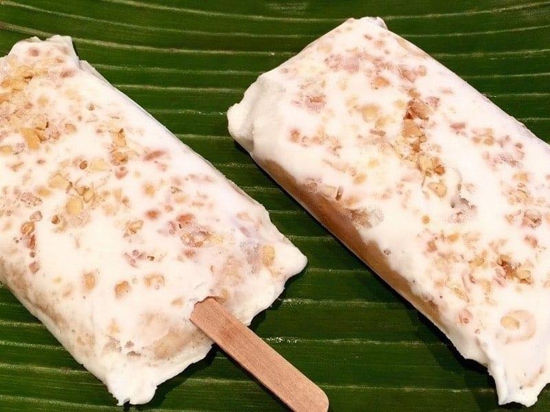 hướng dẫn cách làm kem chuối - nước cốt dừa