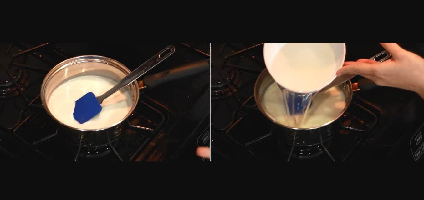 cách làm kem dừa thái lan tại nhà