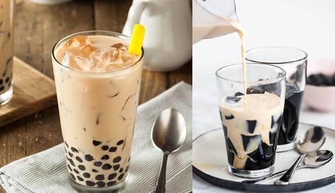làm trà sữa lipton tại nhà