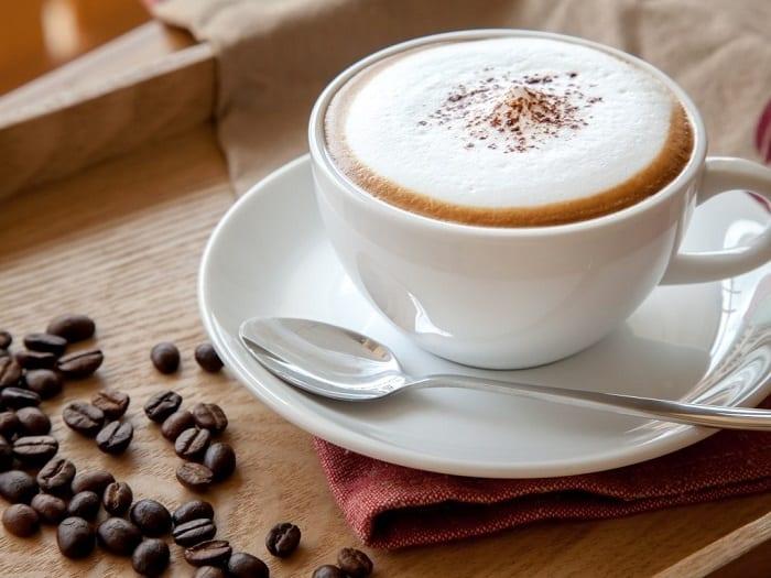cách pha cà phê capuchino đơn giản