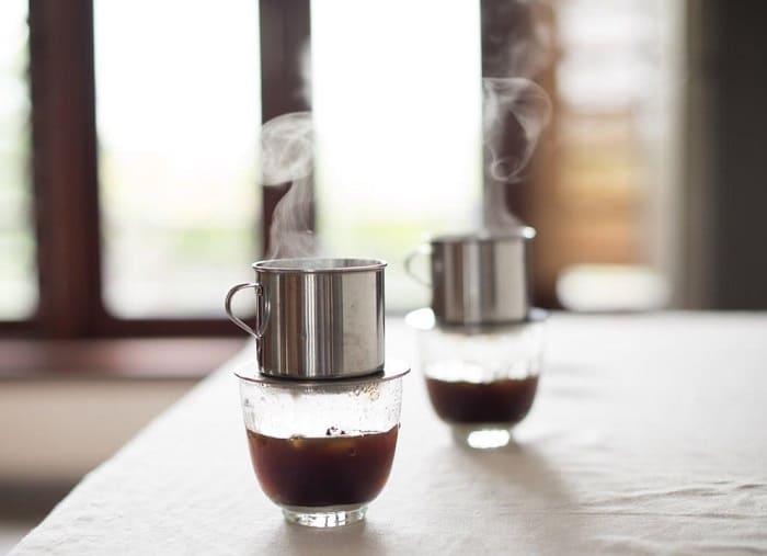 cách pha cà phê