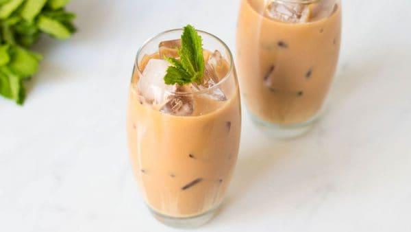 cách pha chế trà sữa thái đỏ