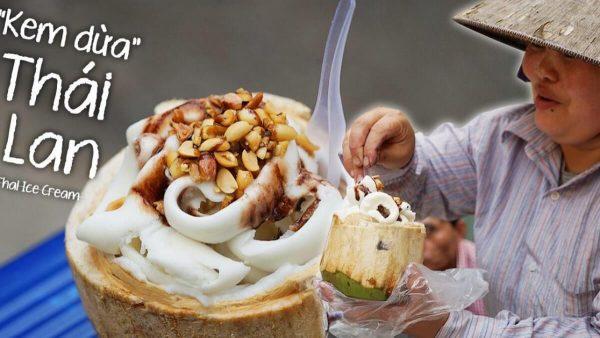 cách làm kem dừa thái lan