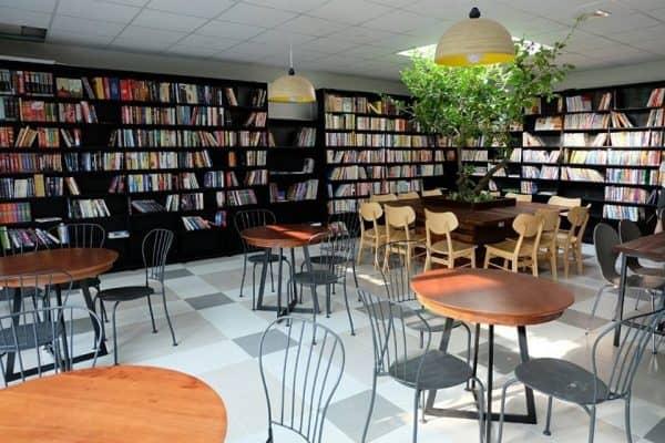 mô hình kinh doanh cà phê sách