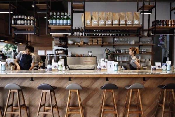 kinh doanh cà phê espresso