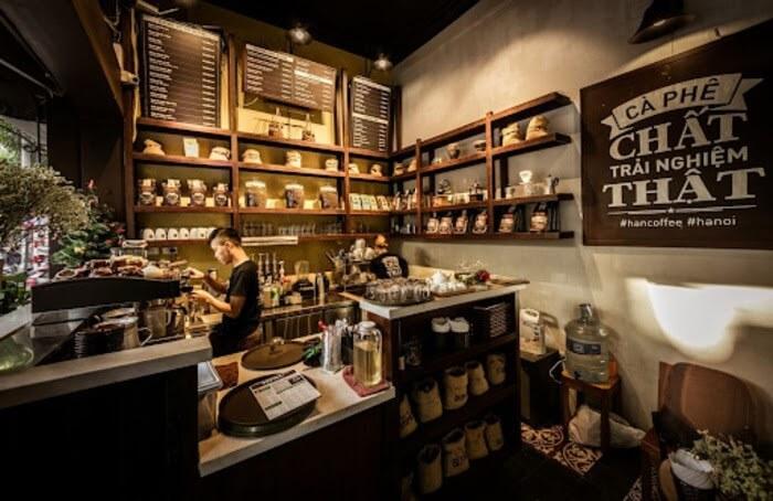 quán cafe nhỏ