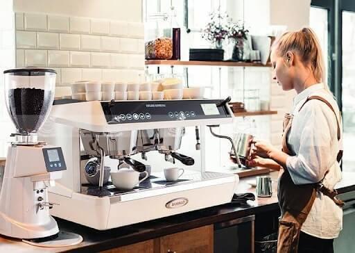 cách sử dụng máy pha cà phê mini