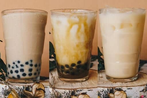 lợi ích của trà sữa trân châu
