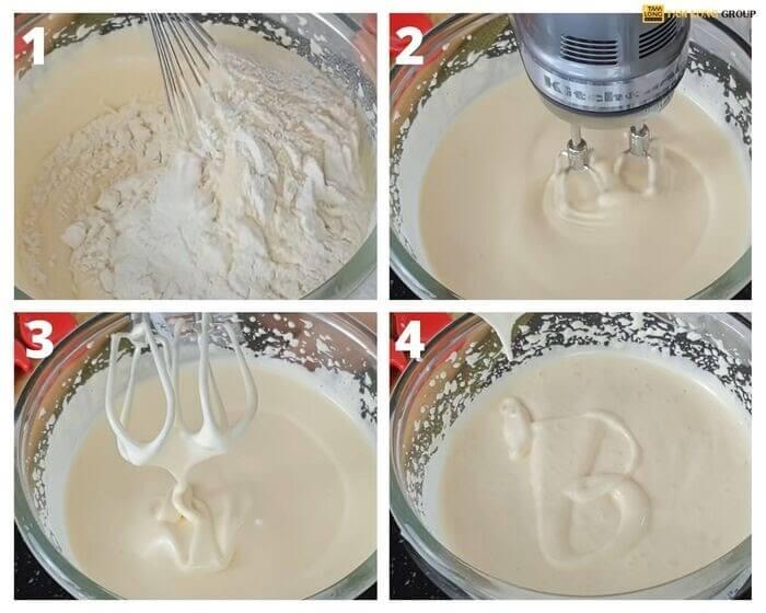 cách làm bánh gato sinh nhật