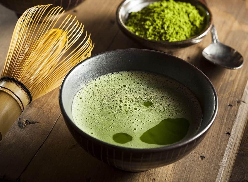 cách pha trà sữa thái trà xanh