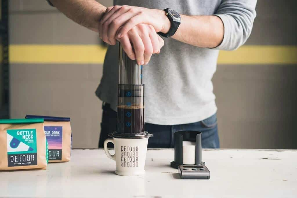 pha espresso không cần máy