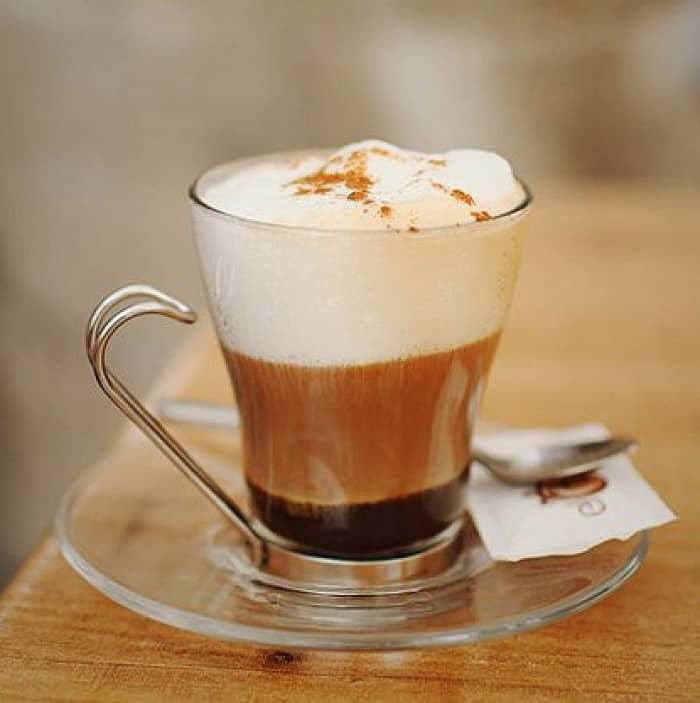 cách pha cafe macchiato