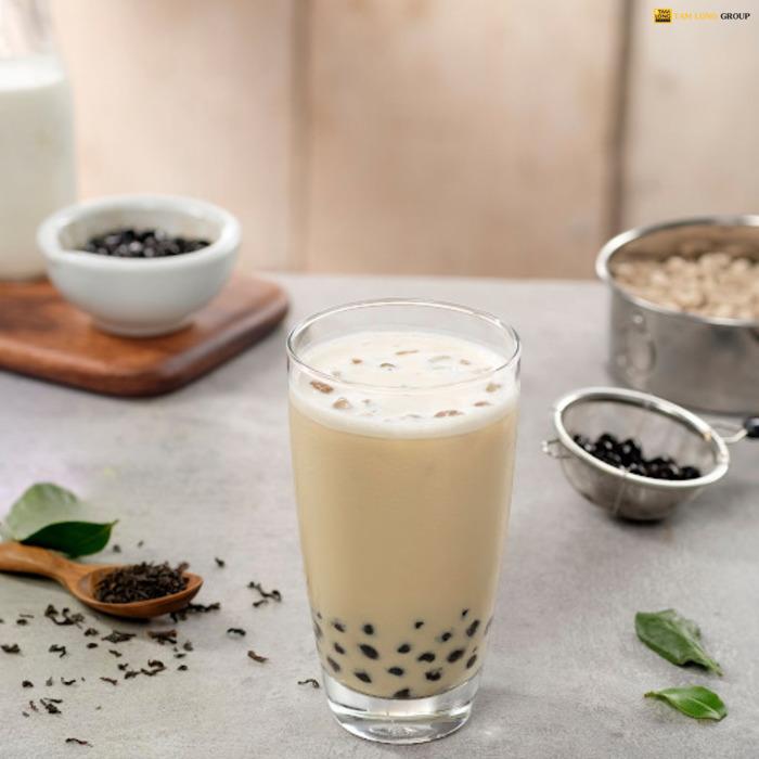 cách làm trà sữa bán - Tam Long Group