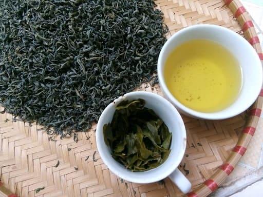 trà thái nguyên nấu trà sữa