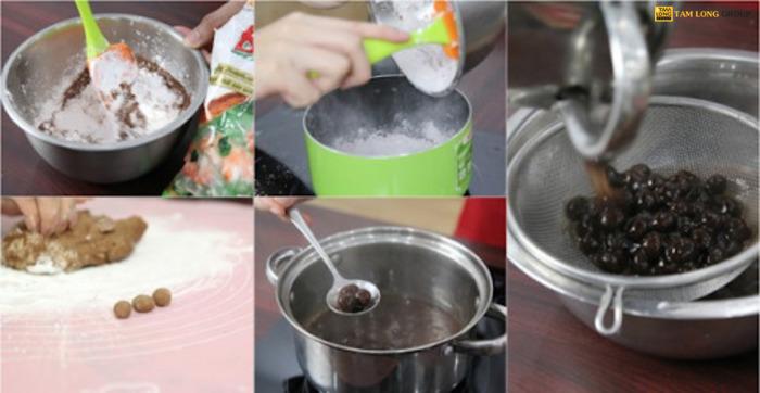 cách làm trà sữa truyền thống - Tam Long Group