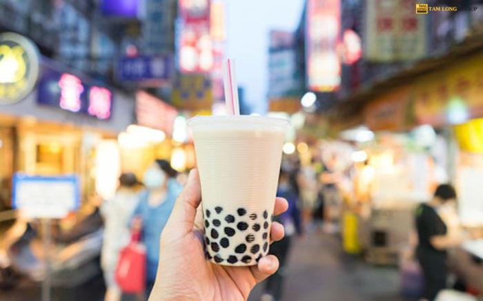 cách làm trà sữa từ bột béo - Tam Long Group
