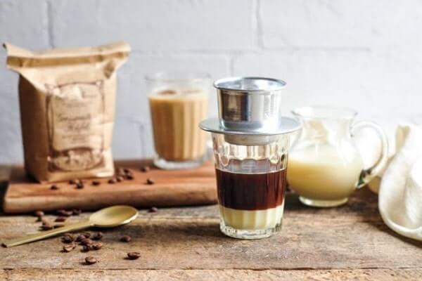 cách pha cafe fin