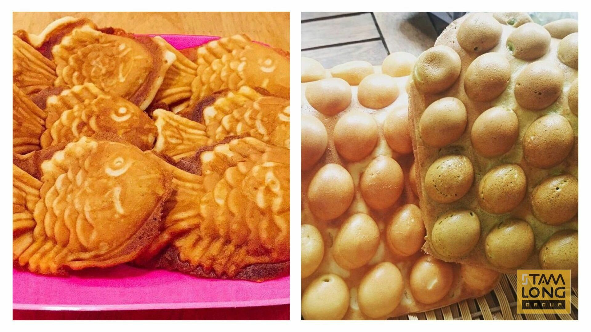 học làm bánh trứng hongkong và bánh cá