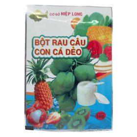 Bột rau câu con cá dẻo (1 hộp x 12 gói)
