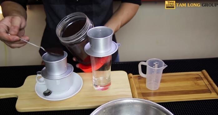hướng dẫn pha cafe phin