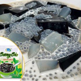Bột sương sáo đen, trắng Thuận Phát gói 50g (kèm dầu chuối)