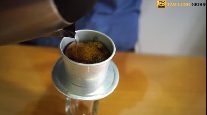 các bước pha cà phê