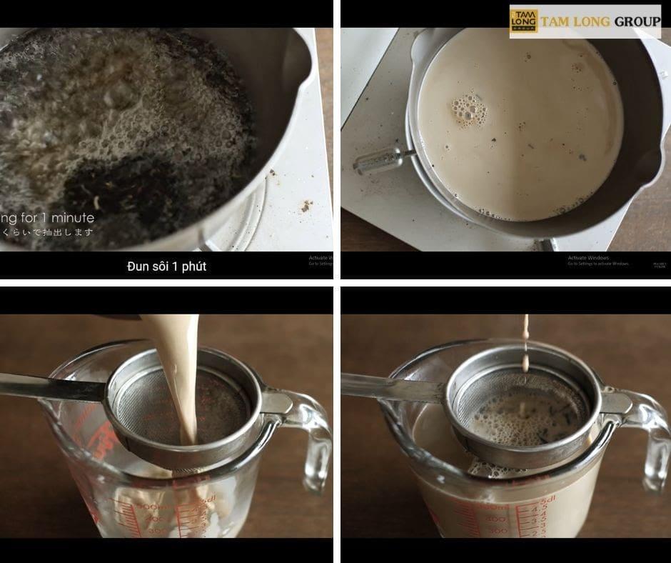 cách nấu trà sữa