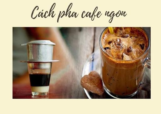 cách pha chế cafe ngon