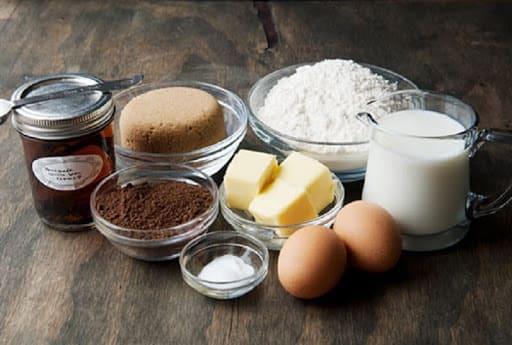 nguyên liệu làm bánh kem oreo