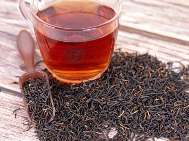 trà đen làm trà sữa