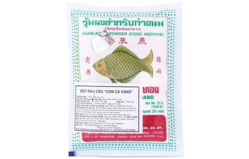 thạch rau câu con cá vàng