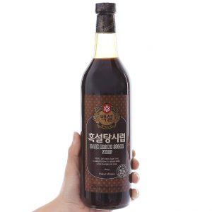 Syrup đường đen