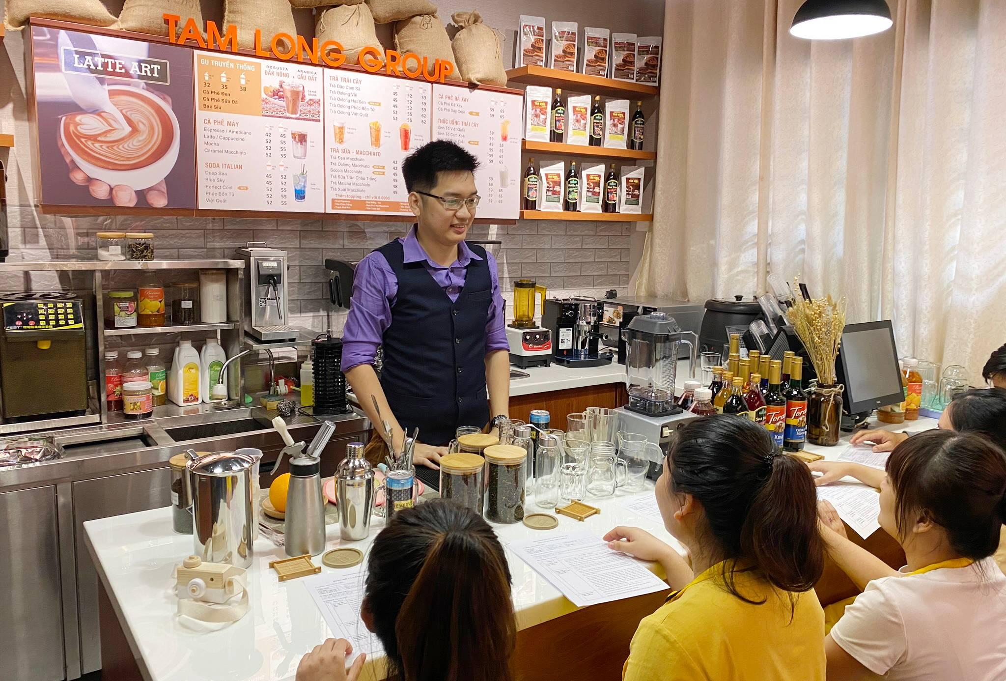 Dạy học pha chế trà sữa ngon tại TPHCM