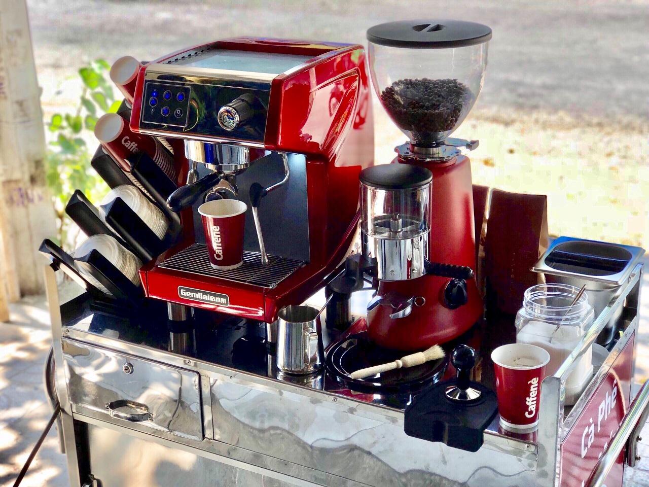Máy pha cà phê Gemilai CRM 3200
