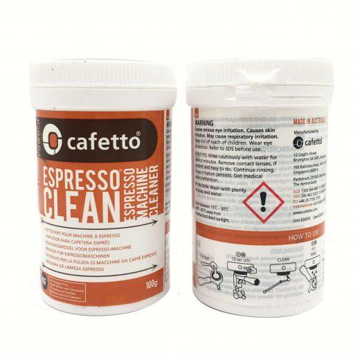Bột thuốc vệ sinh máy pha cà phê Cafetto 100G