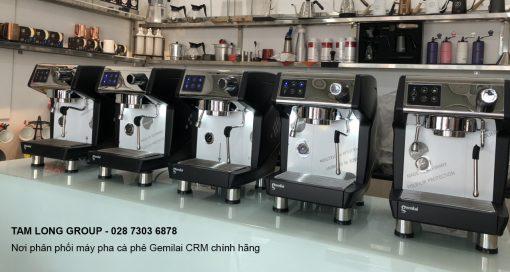Máy pha cà phê Gemilai CRM 3200 B chính hãng tại TPHCM