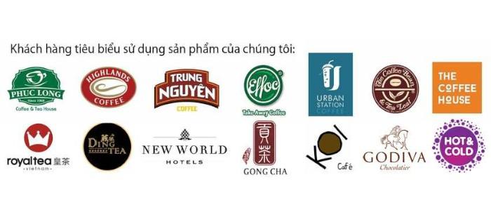 Một số khách hàng quen thuộc của Tam Long Group
