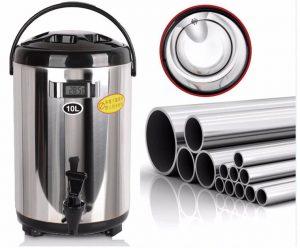 Mua bán và cách sử dụng bình ủ trà sữa đài loan 5L 6L 8L 10L 12L giá rẻ