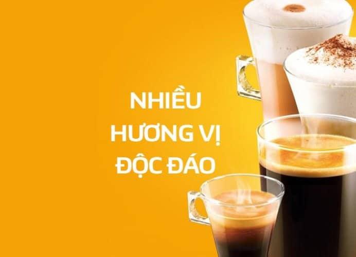 Cà phê viên nén Nescafé Dolce Gusto